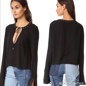 NWT | Free People Nu Nu Jump to the Beat Top